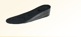 triple layer height insoles